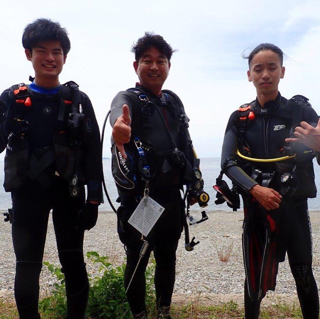 福山ダイビング